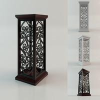3d model column