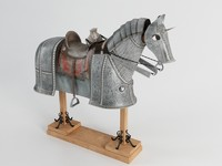 3d horse armor