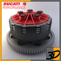ducati motorcycle clutch 3d max