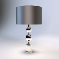3d model eichholtz lamp zephyr