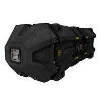 3d model box cargo