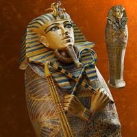 fbx sarcophagus tutankhamun