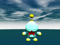 free 3ds model chao