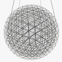 chandelier moooi raimond led lights 3d max