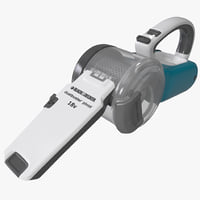Cordless Pivoting Hand Vac Black and Decker