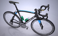 3d model of pinarello dogma bicycle team