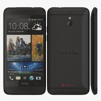 htc mini black 3d model