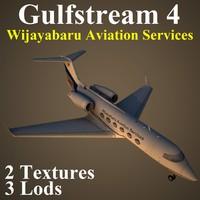 max gulfstream 4 pv2