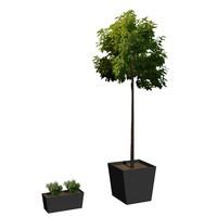 3d model flowerpot m-01