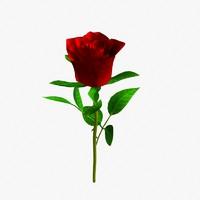 3dsmax rose petal