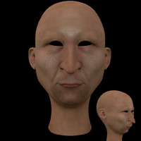 3d cartoon head model