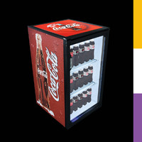 drinks fridge coca-cola sct 3d model