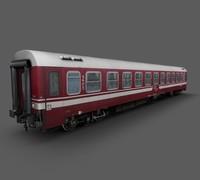 3d passenger car model