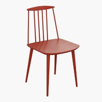 haus j77 dining chair 3d model