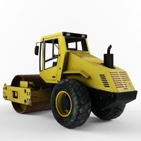 3d compactor model