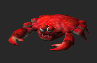 Crab lowpoly animated