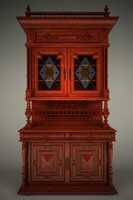 3d model cupboard jam closet
