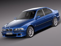 3d sedan sport bmw 2001