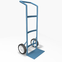 3ds max hand truck
