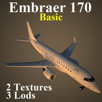 3ds max embraer basic