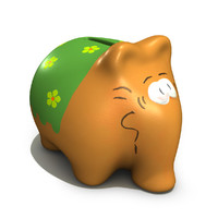 3ds max money bank