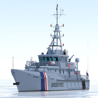 UKBA 42m Customs Cutter