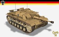 lightwave stug iii tank