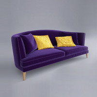 sofa busnelli tresor 3d model