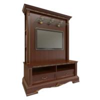 tv cabinet obj free