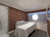 3ds max spa massage room