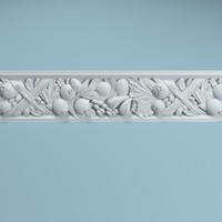 3d model peterhof cornice