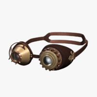 SteamPunk Goggles IS-I