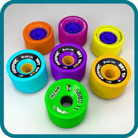 longboard wheels 3d max