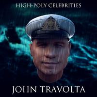 3d john travolta model