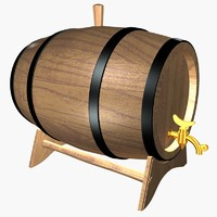3ds max artisty barrels