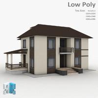 3d model building