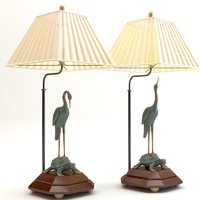 3d table lamp chinese
