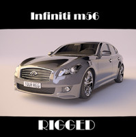 max infiniti m56 rigged car