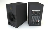 3d model adam a7 monitor