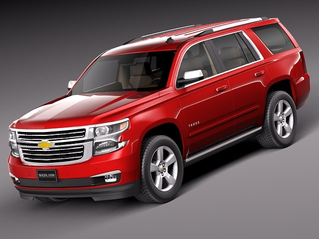 2014 2015 suv chevrolet 3d c4d. Black Bedroom Furniture Sets. Home Design Ideas