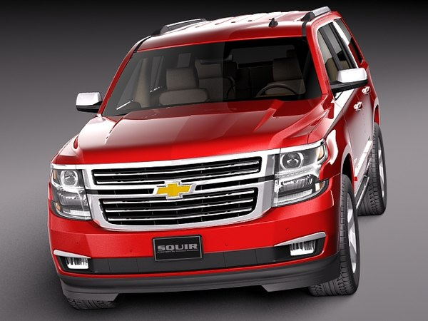 3d 2014 2015 suv chevrolet model. Black Bedroom Furniture Sets. Home Design Ideas