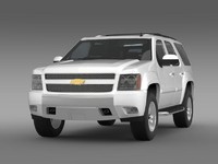 chevrolet tahoe z71 3d model