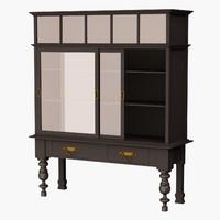 3d eichholtz cabinet barney s model