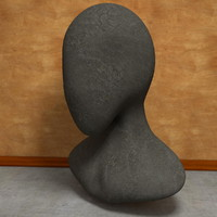 3d head dummy model