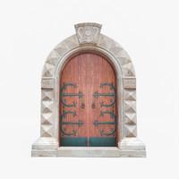 Medieval Italian Doorway