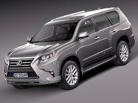 3d model 2014 suv lexus