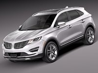 3d model 2014 2015 luxury suv