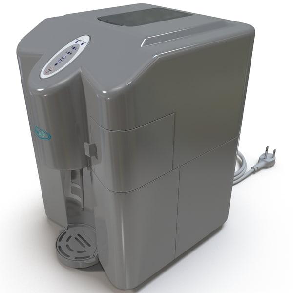 3d Model Portable Ice Maker
