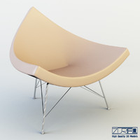 3d model coconut chair
