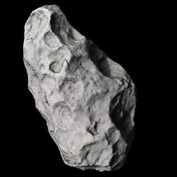 asteroid animation 3d model